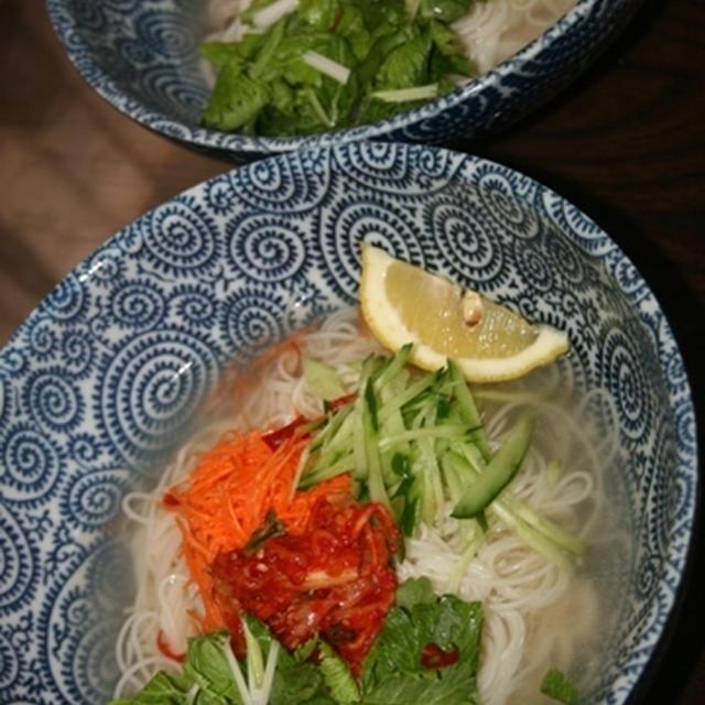 8月19日  冷麺風素麺