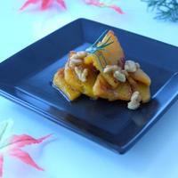 簡単、美味しい♪♪『バターナッツカボチャのステーキ』☆FUJIFILMXM-1で撮影して♪♪