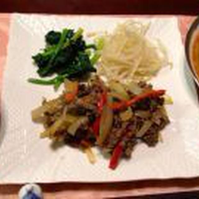 プルコギ&キムチスープ