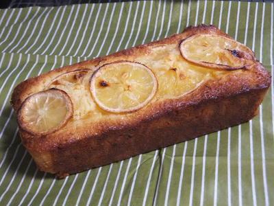 >レモンまるごとパウンドケーキ by Rietanさん