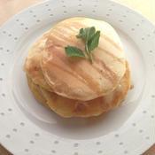ハムとチーズのパンケーキ
