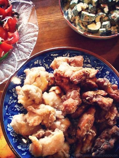 鶏の唐揚げ・塩味バージョン