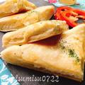 フライパン焼きクリームチーズナン【発酵なし】