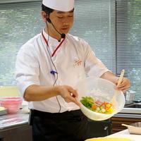 Salad Cafeさんにおけるサラダ料理の神髄を学ぶ♪