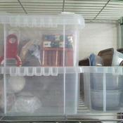 プラスチックの道具箱