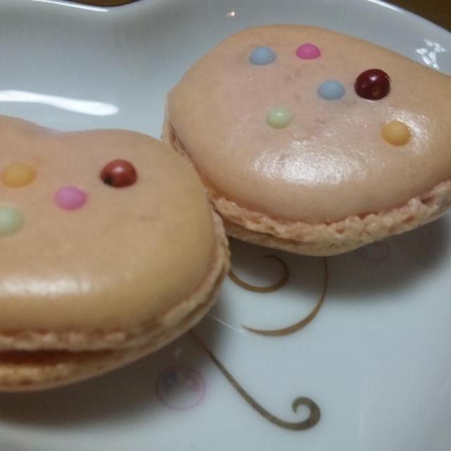 苺ショコラガナッシュ マカロンetピンクペパー (キッチン ラボ)