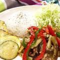 スパイスで減塩!彩り野菜のバジル炒め♪【スパイス大使】 by ぺるしゃんさん
