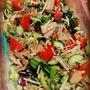 鯖の水煮サラダ