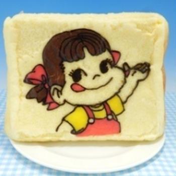 ペコちゃんデコケーキ