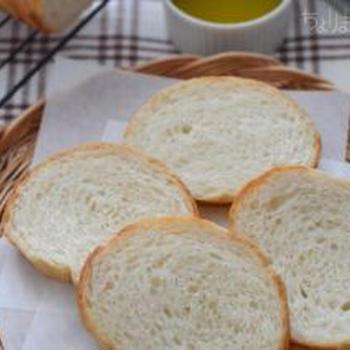 塩ラウンドパン。[強力粉・塩]★☆☆ あと引くおいしさのシンプルパン