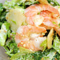 食べて納得☆キャベツと海老のパルメザンわさびマヨ胡麻和え