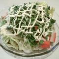 簡単!手抜き!冷凍うどんで手軽に作れるサラダうどんのレシピ by プンさん