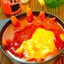 ハロウィンデコ鍋★ゾンビ鍋 カゴメ完熟トマト鍋スープで(^^♪