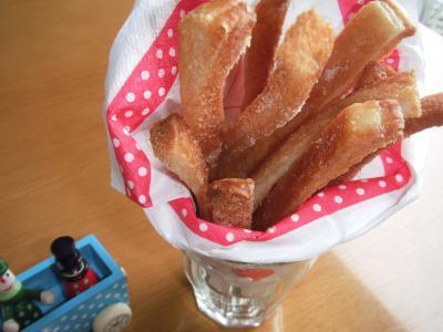節約♪美味しい♪盛り上がる♪(笑)「パン耳DEきび砂糖のかりんとう」&「おみくじ☆かりんとう」