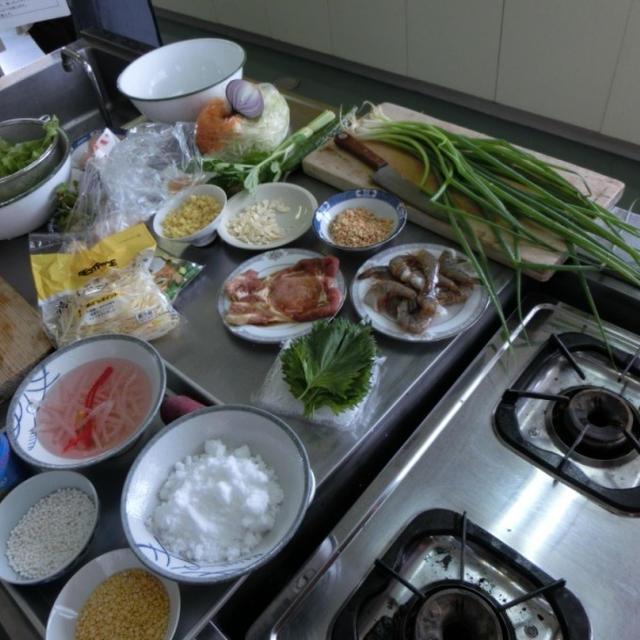 ~親子でベトナム料理講座~