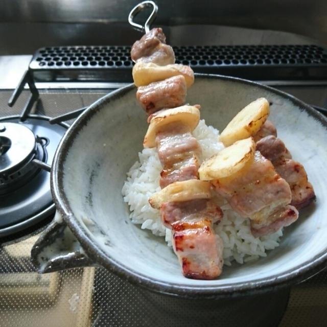 ハナマルキ『塩こうじ』で熟成豚バラ肉と新生姜のジンジャーポークグリル