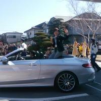 小平奈緒選手 凱旋祝賀パレード