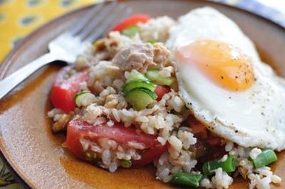 玄米入り rice salad
