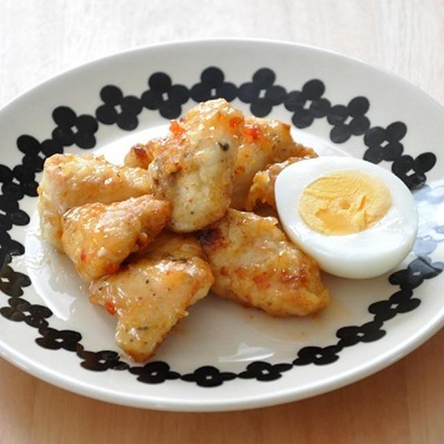 【ラクうまおかず】ダンナさんの喜ぶおかず、鶏肉のチリソース和え