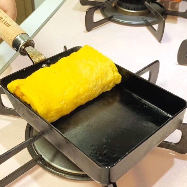 【卵焼き道場】後編:5分で完成!リバーライトの卵焼き器で作る「モチモチ」卵焼き