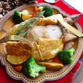 絶妙の塩加減!!チキンレッグのソルトクラスト/chicken baked in a salt crust☆クリスマスレシピ by ルシッカさん