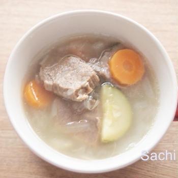 スパイスアンバサダー|ギリシャ冬の定番スープ クレアトスパ