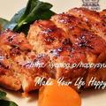 クックパッドでトップ10入り「鶏むね肉de柔らか~絶品☆チャーシュー」&ポチ報告 by ジャカランダさん