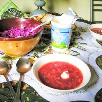 列車で国境越え!?ロシアとビーツと5年前と。ロシアの家庭料理。ボルシチ。