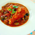 鶏手羽元とうずら豆のトマト煮♪ル・クルーゼで美肌レシピ by みぃさん