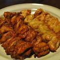 鶏セセリ焼(塩味とケバブ風)