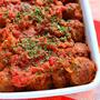 簡単本格イタリアン!ミートボールのトマト煮