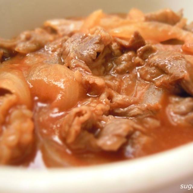 牛肉とトマトジュース煮