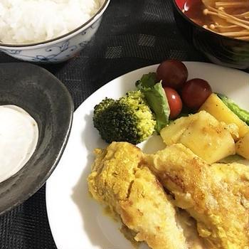100均で良かったもの&白身魚のカレー焼き