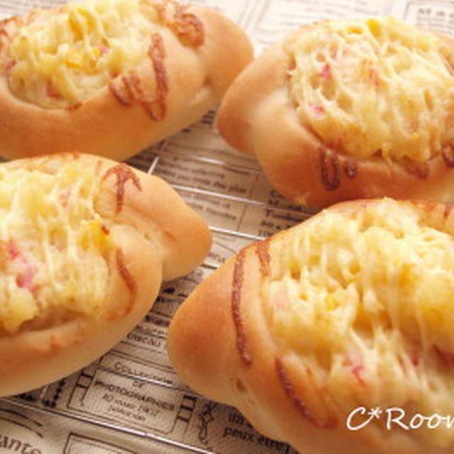 チーズ入りポテトパン