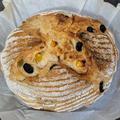 ミックスフルーツのライ麦パン