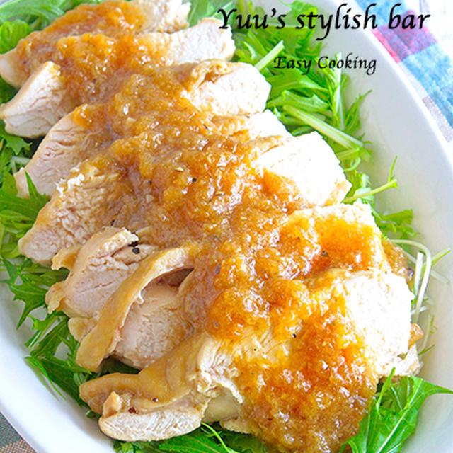 めっちゃ美味しい〜っ!鶏むね肉で作る♡しっとり柔らかレンジ鶏チャーシュー《簡単★節約★作り置き》