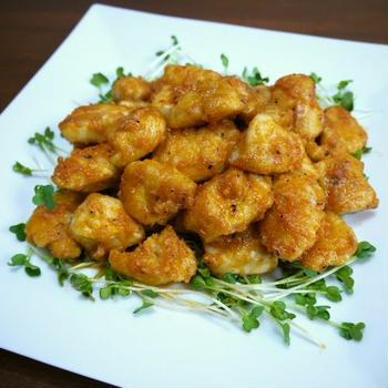 【動画レシピ】鶏むね肉のオーロラソース♪