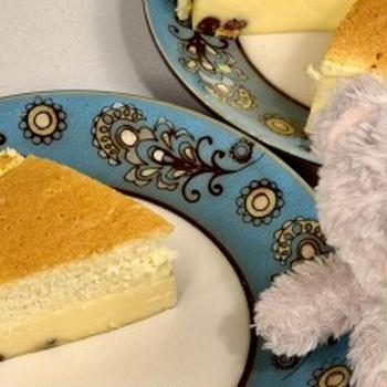 しゅわしゅわ ☆ ボトムいらずな チーズケーキ