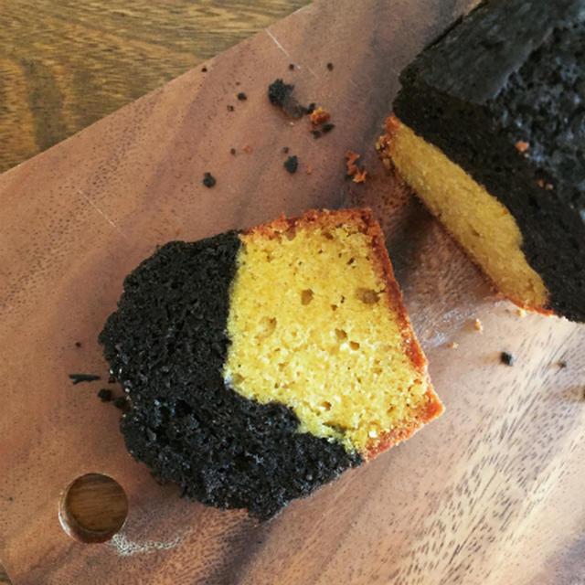 かぼちゃとココアのパウンドケーキ
