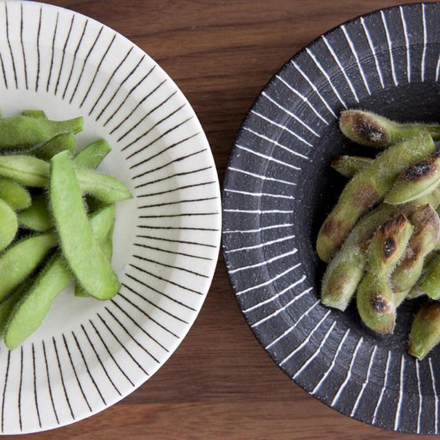 枝豆の実験 茹で枝豆 VS グリル枝豆