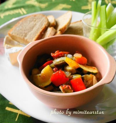 ルクエで簡単フランス野菜料理 【ラタトゥイユ】