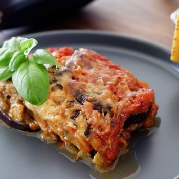夏のイタリアのお惣菜 なすのパルミジャーナ