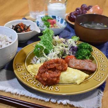 【肉巻き白菜の塩レモン】#白菜消費#肉巻き#お弁当 …かなり早めの朝ごはんとお弁当。