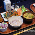 (夕飯) 韓国春雨を使ったチャプチェ