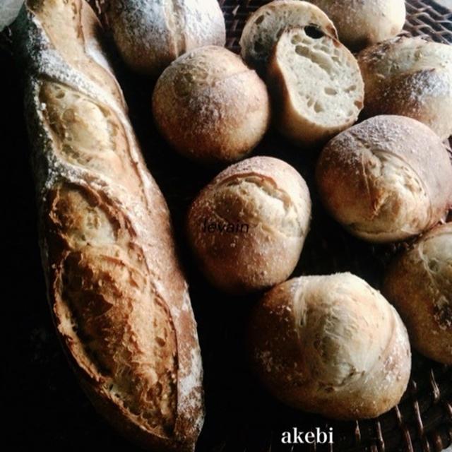 あけび酵母のフランスパン/ルヴァンリキッド
