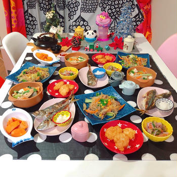 ♥️簡単チャプチェとリメイクご飯♥️
