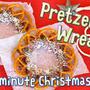 今からでも間に合う♪クリスマスに簡単!プレッツェルリース(動画レシピ)