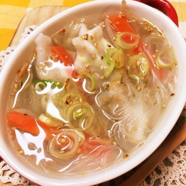創味シャンタンDX‼️ 身体温まる〜中華スープ♪
