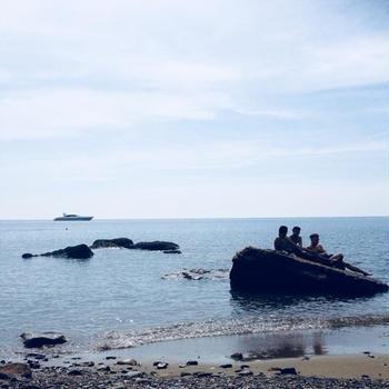 最後の海と中華
