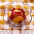 さつま芋とレーズンの蜂蜜レモン煮
